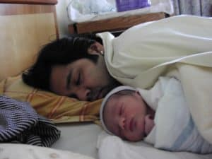 Father birth story: Arp's first