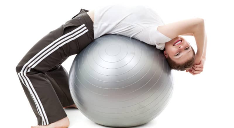What can you do with a birthing ball?